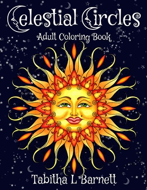 Celestial Circles Adult Coloring Book PDF