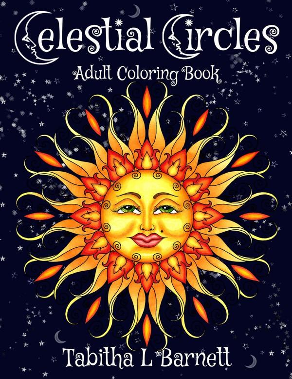 Celestial Circles Adult Coloring Book PDF