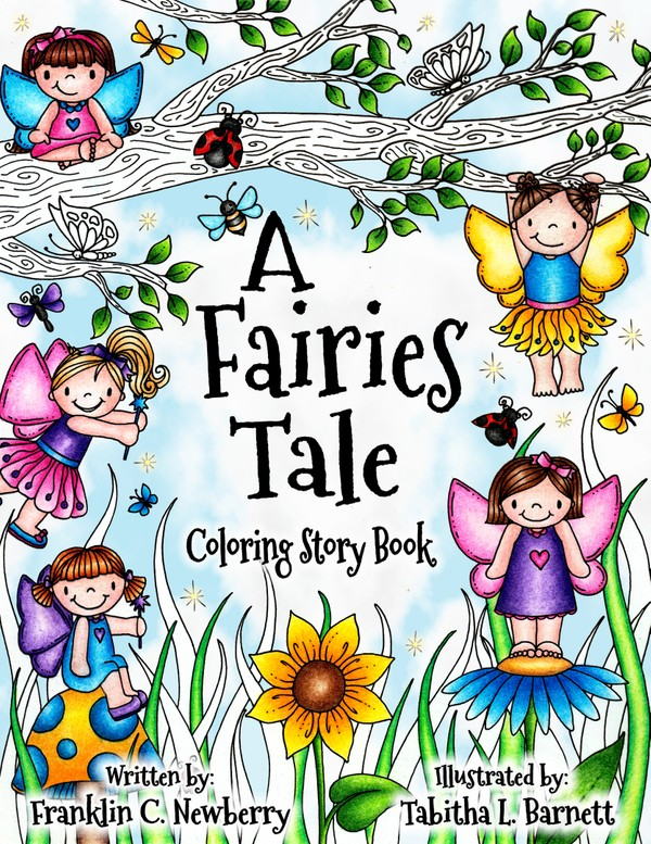 A Fairies Tale Coloring and Story Book PDF