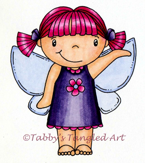 **NEW** Fantastic Fairies ELLIE Digi Stamp/Coloring Page