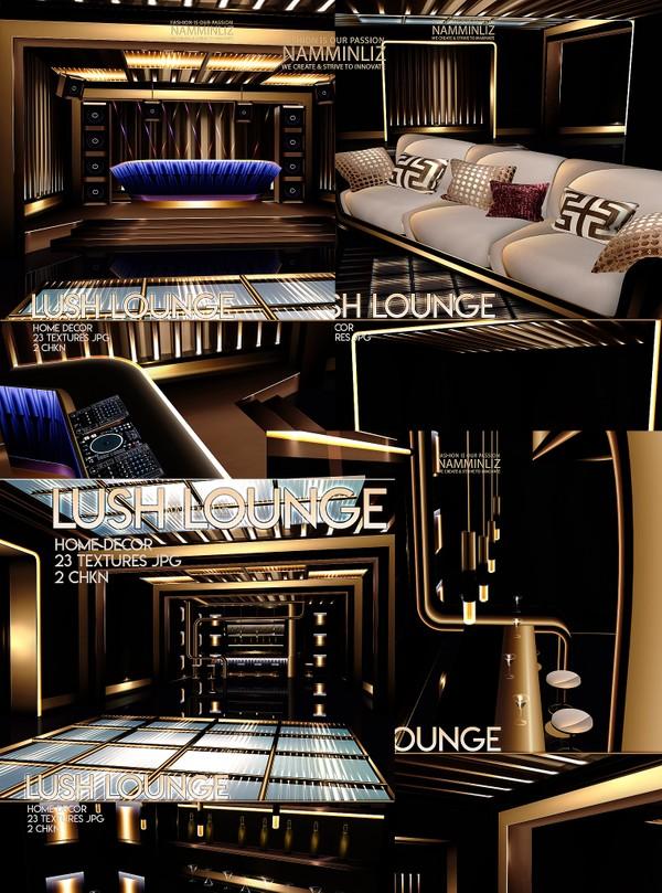 Lush Lounge Home decor 23 Textures JPG 2 CHKN