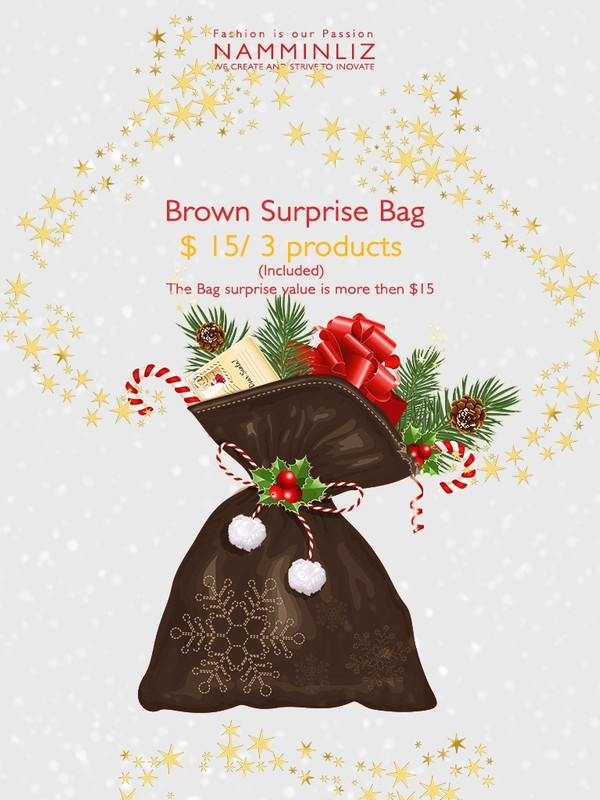 Brown Surprise Bag 3 products ♥