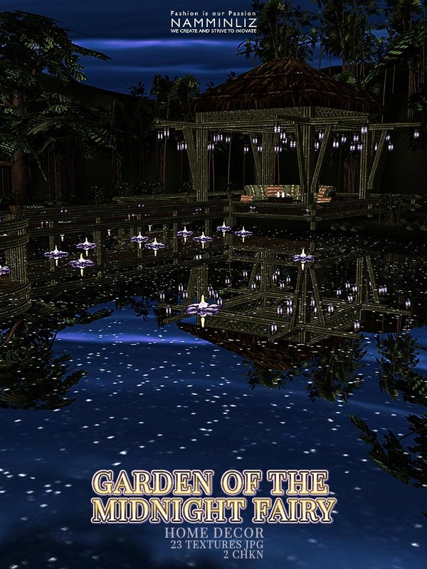 Garden of the Midnight Fairy Home decor 23 Textures JPG 2 CHKN