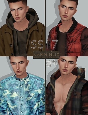 SS17 combo full imvu male tops