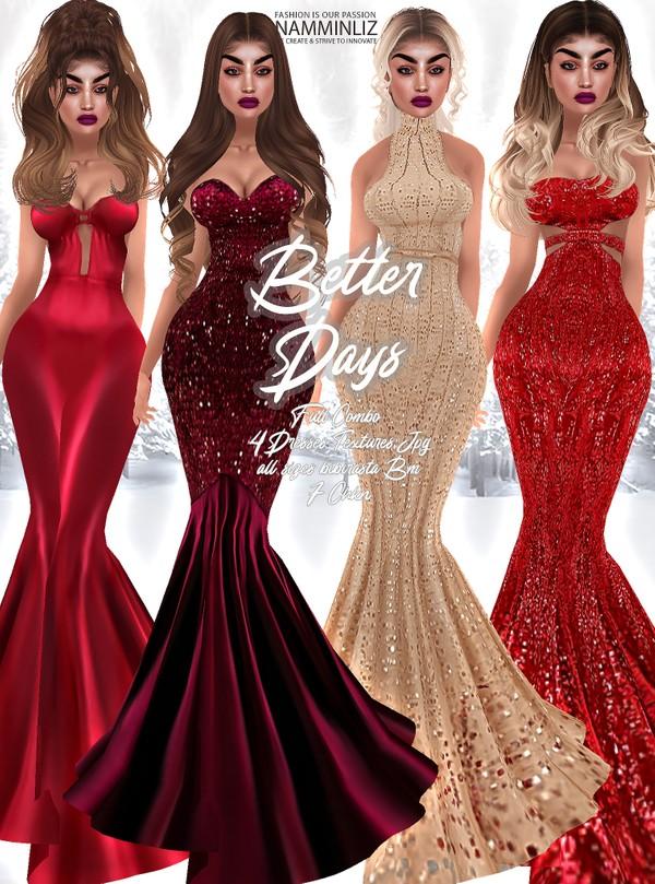 Better Days full combo  Dresses 4 Textures JPG 7 CHKN