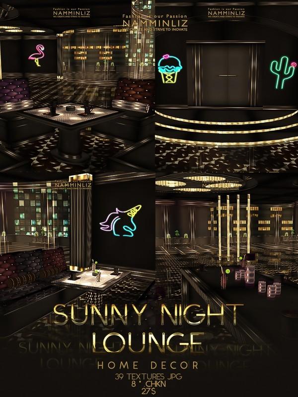 Sunny Night Lounge Home Decor (39 Textures JPG . 8 *.CHKN)