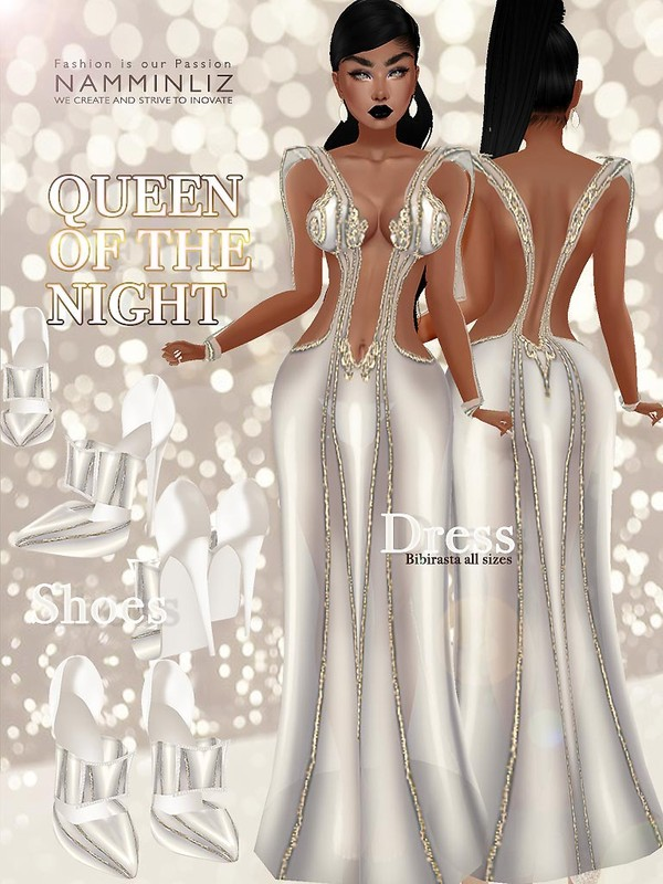 Queen of the Night 3 ( Outfit and Shoes ) JPG Textures