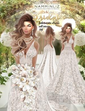 Bridal combo 3 •imvu Bibirasta dress all sizes