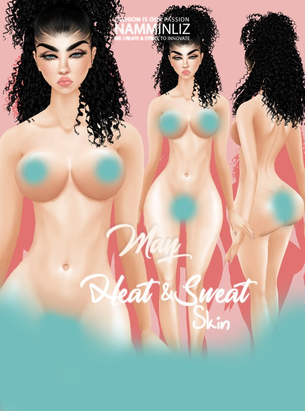 Heat & Sweat May Skin Texture PNG ^  .  ^
