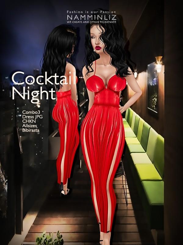Cocktail Night combo3 Dress JPG CHKN bibirasta all sizes