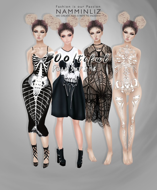 Boo!tiful Set1 •Sis3d Outfit