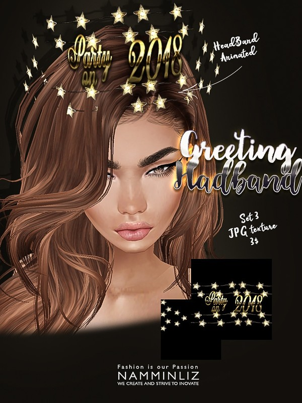Greeting headband set3 imvu texture JPG NAMMINLIZ filesale