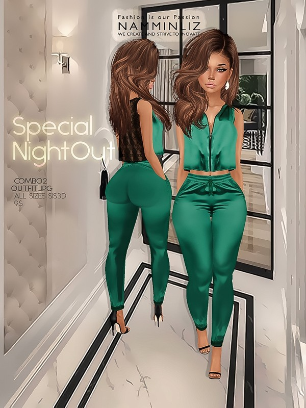 Special night combo2 ( Outfit Textures JPG sis3d all sizes )