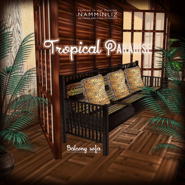 Tropical Paradise Home Decor 52 Textures Limited to 4 available 2