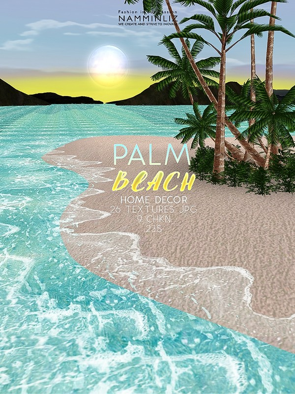 Palm Beach Home decor 26 Textures JPG 9 CHKN