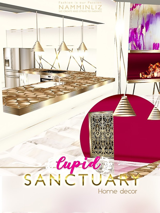 Cupid Sanctuary Home decor 40 JPG Textures & 11 *.CHKN filesale NAMMINLIZ imvu
