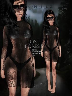 Lost forest set 2 imvu texture JPG Bibirasta long top - NAMMINLIZfilesale