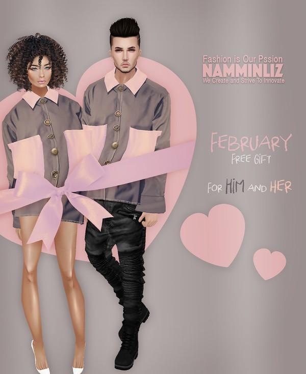 Valentine Love birds  February imvu free gift