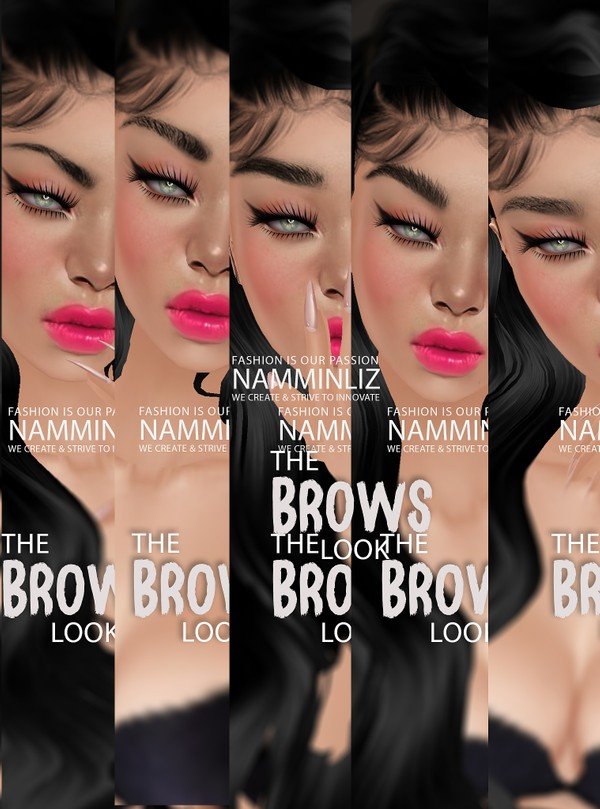 The Brow Look 5 Textures PNG CHKN ^  -  ^