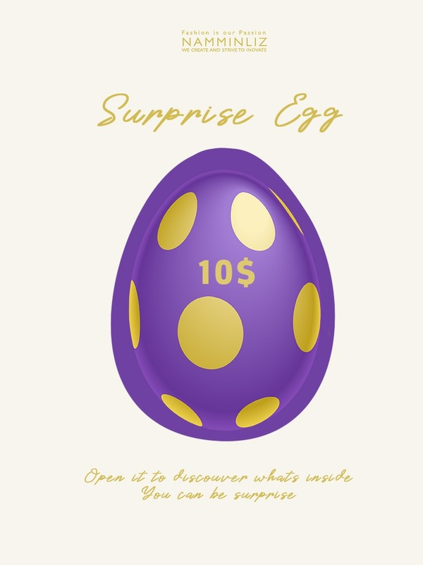 Secret Egg Surprise Products & Game 10$