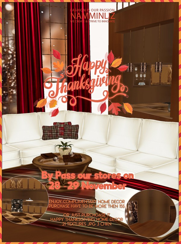 ByPass our Stores on 28- 29 November and enjoy complimentary Thanks Giving Home decor 21 JPG CHKN