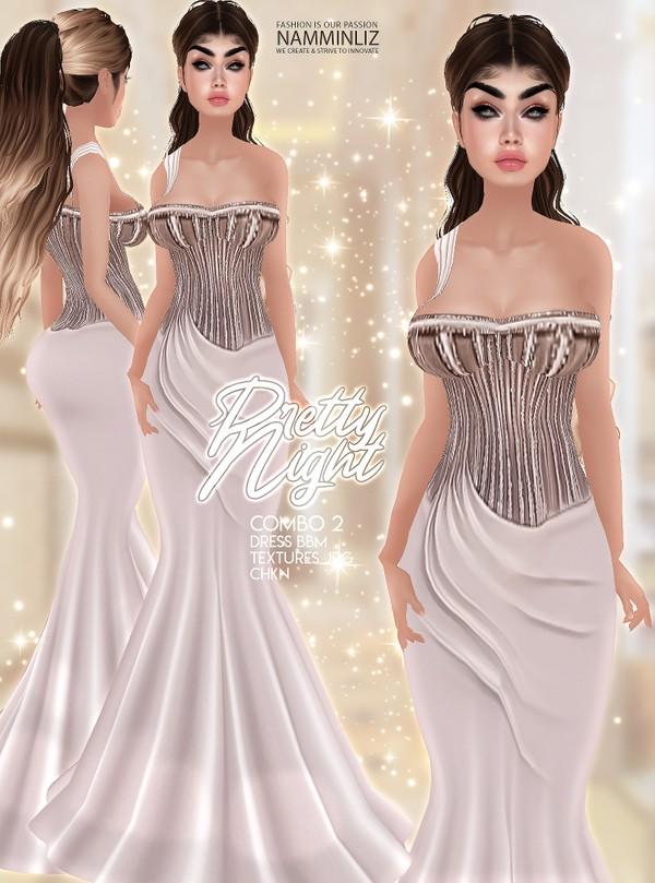 Pretty Night combo2 Dresses BBM Textures JPG CHKN