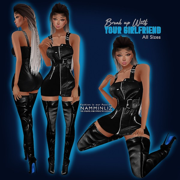 Ari Inspired Break up with your Girlfriend Club Bundle Textures (All Sizes Outfit, Shoes) CHKN