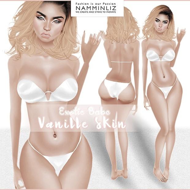 Vanille skin - Exotic Babe Skin