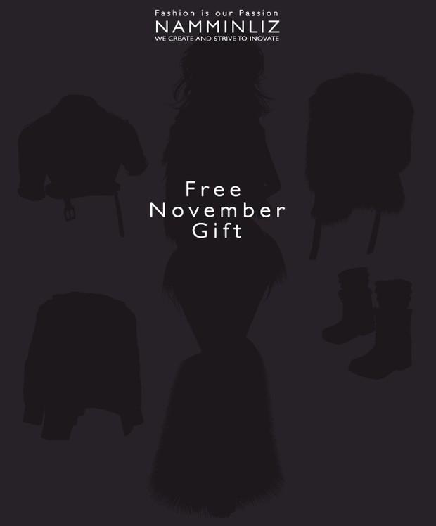 Happy November ♥ Free Gift imvu freebie