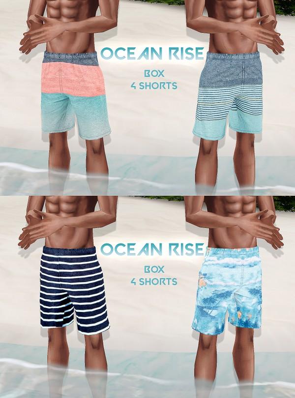 Ocean Rise Box V1 - 4 Short Textures JPG 4 CHKN