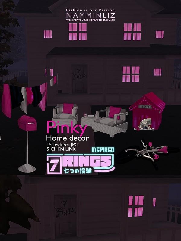Pinky Home decor 15 JPG Textures 5 CHKN