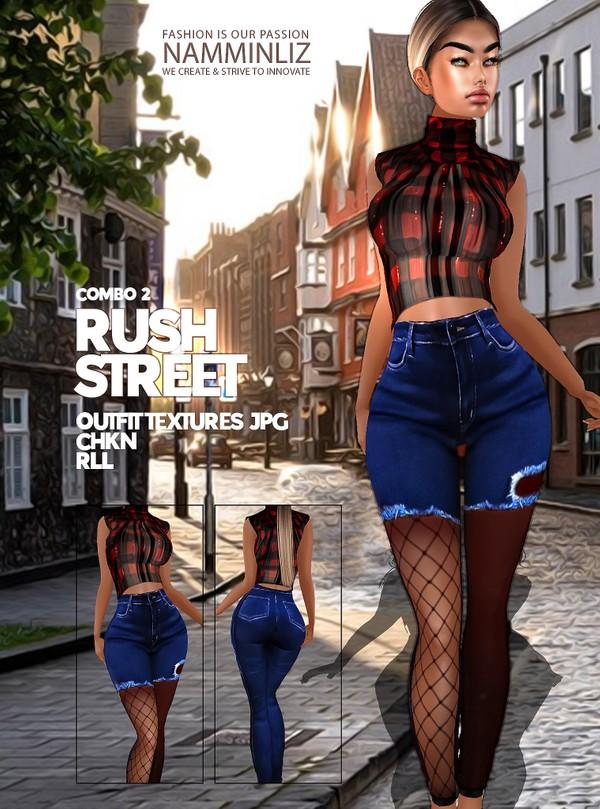 Rush Street combo 2 Textures Outfit JPG CHKN RLL