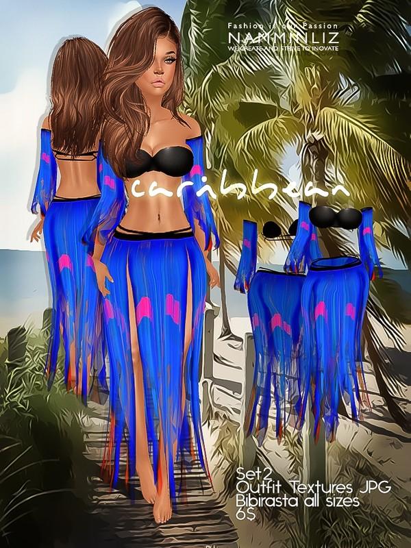 Caribbean SET2 Textures JPG bibirasta all sizes