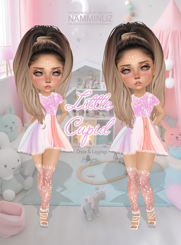 Little Cupid Set3 Dress & Leggings Textures JPG CHKN