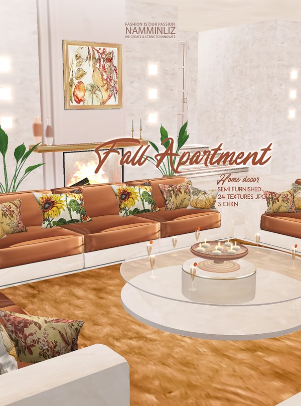 Fall Apartment Semi furnished 24 Home decor Textures JPG 3 CHKN