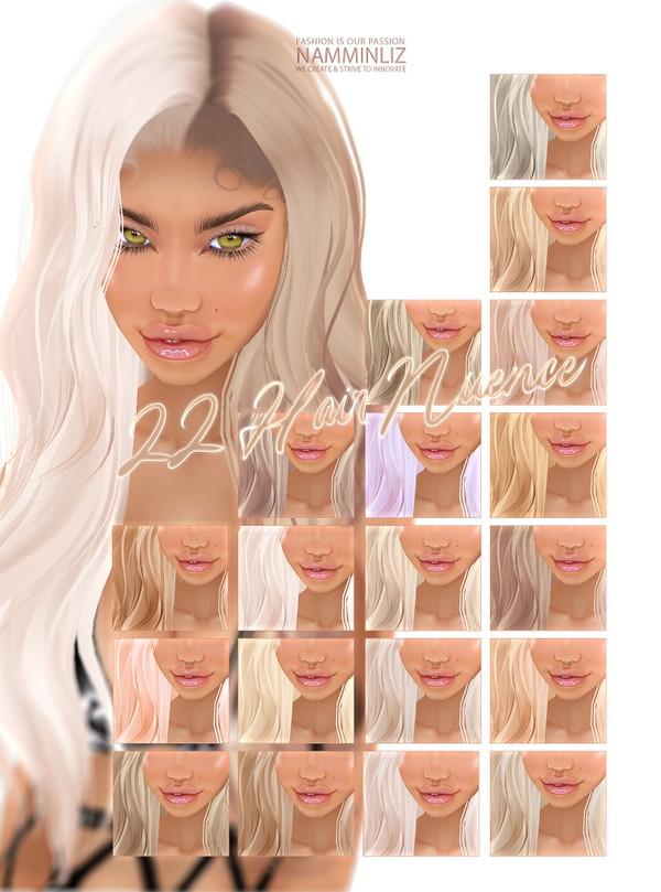 22 Hair Nuence Textures JPG