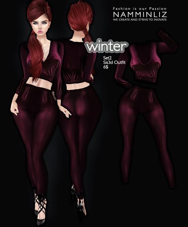 Winter set 2 imvu Sis3d outfit