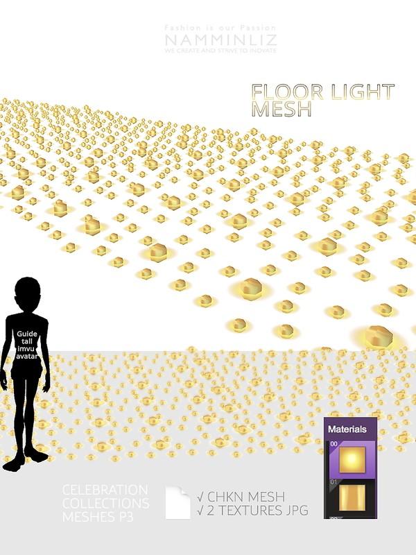 Floor Light  Mesh CHKN 2 Textures JPG