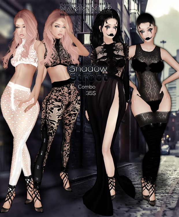 Shadow Street •Bibirasta Dress