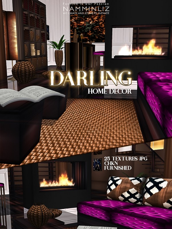 Darling Home decor Furnished 25 Textures JPG