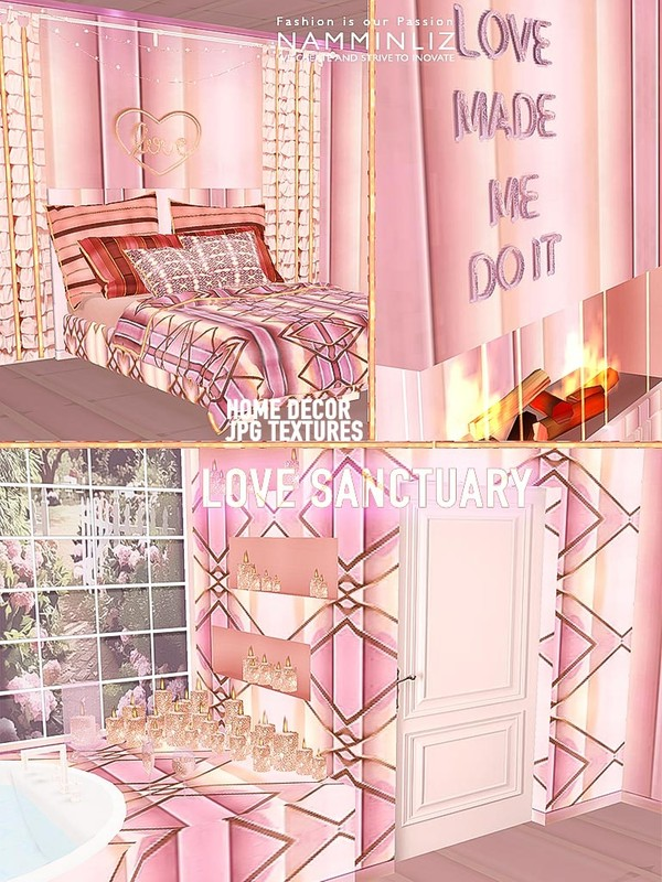 Love sanctuary Home decor 21 JPG Textures CHKN ( Furnished Home imvu link )