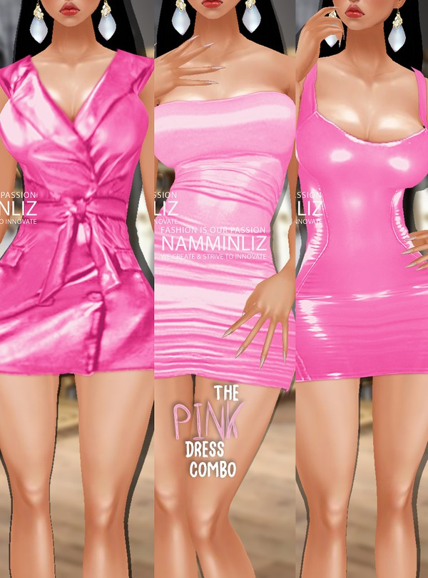 Full The Pink Dress Combo Sis3d Textures PNG CHKN