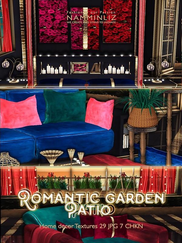 Romantic Garden Patio Home decor 29 Textures JPG only 7 CHKN