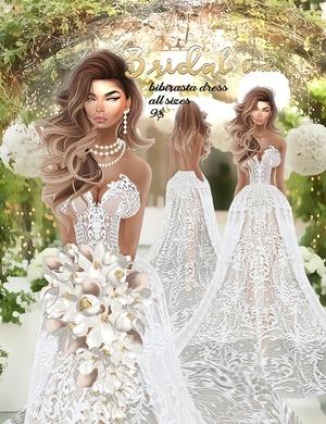 Bridal combo 4 •imvu Bibirasta dress all sizes