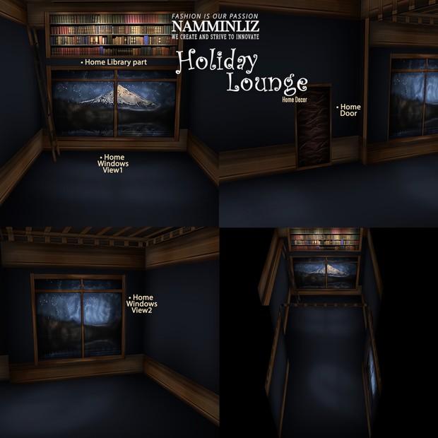 Holiday Lounge Home Decor