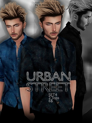 URBAN STREET SET4 imvu JPG texture File sale NAMMINLIZ