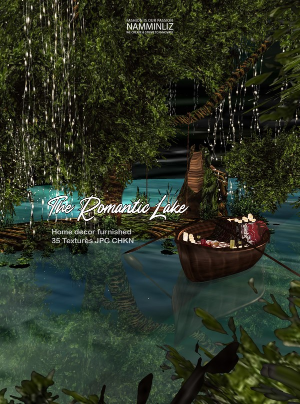 The Romantic Lake home decor  furnished 35 Textures JPG CHKN(imvu link to derivable mesh)