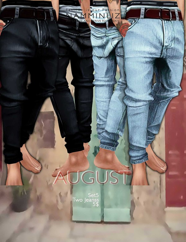 August Set 5  •Two Jeans imvu Textures