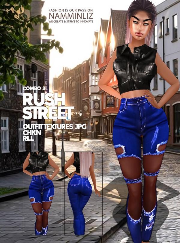 Rush Street combo3 Textures Outfit JPG CHKN RLL