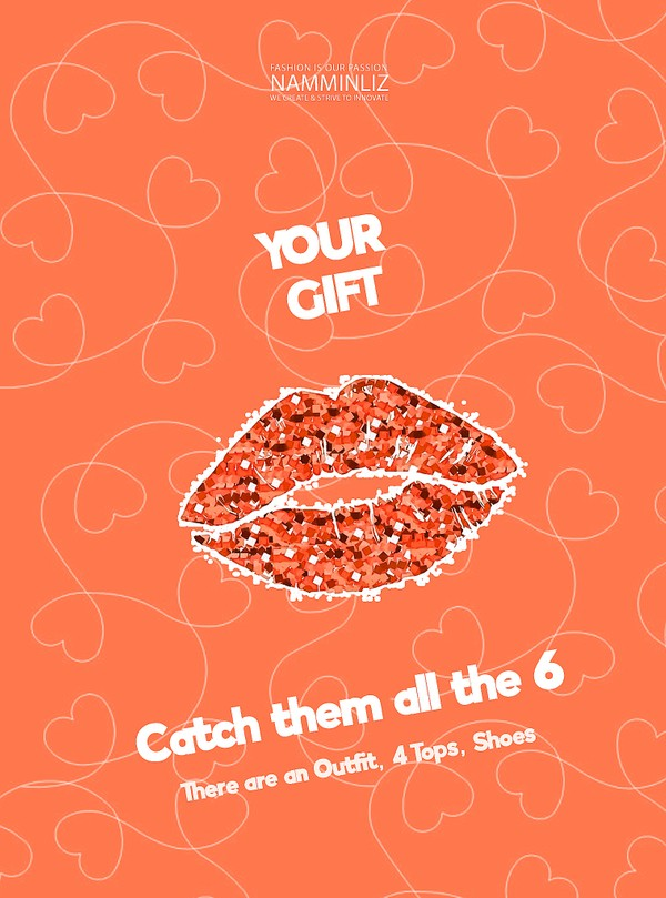♥ YOUR GIFT 6 ♥ Catch them all the 6